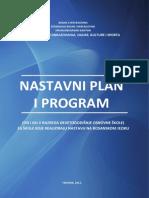 Nastavni Plan i Prograasm (Od I Do v Razreda Devetogodisnje Osnovne Skole) Za Skole Koje Realiziraju Nastavu Na Bosanskom Jeziku