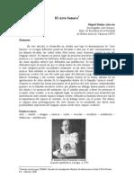 """""""El Arte Sonoro"""", Artículo de Miguel Molina Alarcón."""