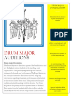 drum major sheet