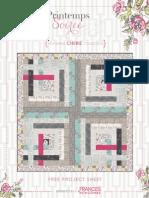 Printemps Soiree Free Quilt Instructions