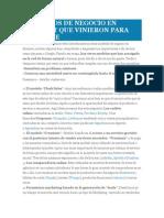 8 MODELOS DE NEGOCIO EN INTERNET QUE VINIERON PARA QUEDARSE.docx