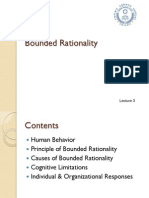 Bounded Rationality Lesson 3