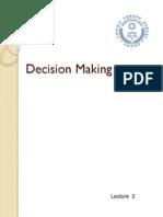 Decision Making Lesson 2