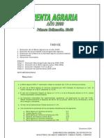 renda agraria 2009