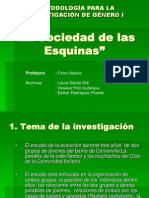 La Sociedad de las Esquinas.ppt