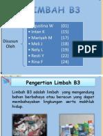 Presentasi Powerpoint Limbah B3
