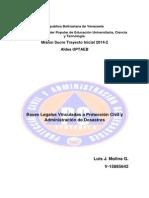 Ivestigacion I Bases Legales Vinculadas a la Protección Civil y Administración de Desastres.pdf
