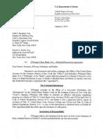 L'accord de poursuites différées contre JP Morgan