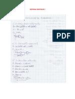 Ejercicios de Simplificación de funciones booleanas
