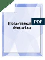 01 Introducere in Securitatea Sistemelor Linux