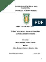 ¨Firma electronica fiel¨ - Marco Herubiel Gomez Cuevas