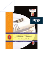 SAMPLE Fine Dining Handbook