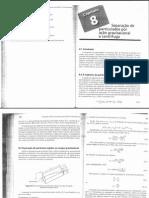 Capítulo 8 - Separação de particulados por ação gravitacional e centrífuga.pdf