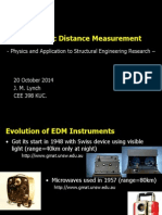 Electronic Distance Measurement Jerome Lynch.ppt