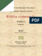 Bac - Biblia Comentada - Tomo I - Pentateuco.PDF