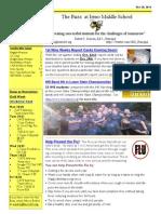 Newsletter Oct 20 2014(1)