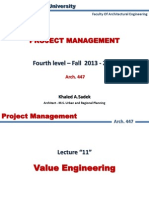 Lect 11 Value Engineering
