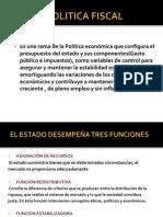 Semana XIV - Política fiscal y Política monetaria.pptx