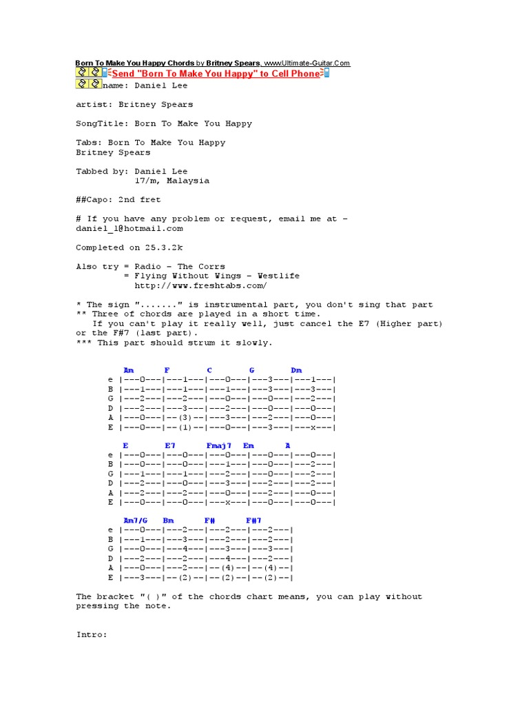 The Corrs Guitar Chords Images Basic Guitar Chords Finger Placement