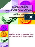 ORGANIZACIÓN DEL TIEMPO EN SALAS CUNAS.ppt