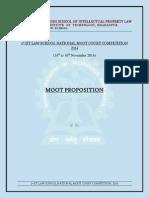 Moot Proposition IIT NMCC 2014