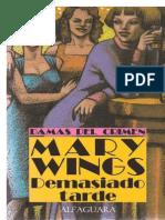Demasiado tarde - Mary Wings.pdf