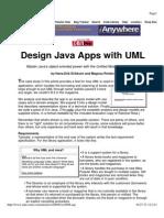Design Java Apps With UML