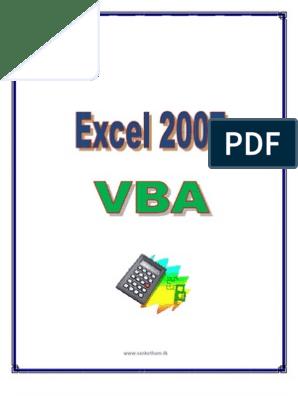 Excel 2007VBA | Databases | Microsoft Excel