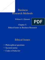 BRM 3 -Ethical Issues in Business Research
