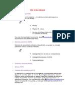TYPE MATERIALS.docx