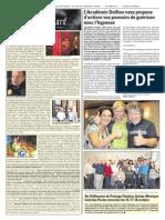 Article - Journal local - région de Québec