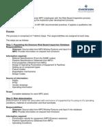 Emerson RBI Methodology - Revision 2