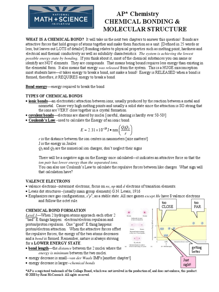 Bond energy calculations worksheet with answers pdf