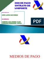 MEDIOS DE PAGO Y CONTRATO DE TRANSPORTE EXPOSICION.ppt