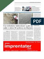 Últimos vertederos denunciados. El Mundo 20-10-2014