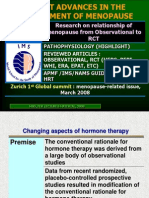 RECENTS ADVANCES IN MENOPAUSE MANAGEMENT.ppt