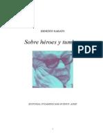SÁBATO, ERNESTO - Sobre Heroes Y Tumbas.DOC