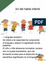 evolucion del habla infantil.pdf