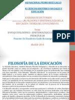 ENFOQUE FILOSÓFICO - EPISTEMOLÓGICO DE LAS TEORÍAS PEDAGÓGICAS (1).ppsx