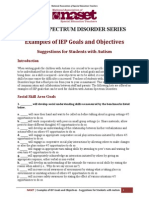 Examples of IEP Goals and Objectives_for_ASD