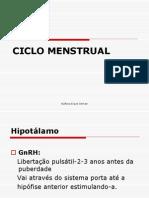 4. Ciclo Menstrual