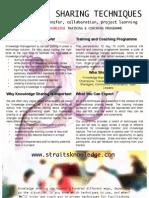 Km Techniques Brochure
