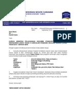 Contoh Surat Kursus DSKP