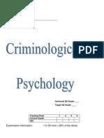 Criminal Booklet