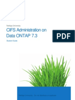 CIFS Administration on Data ONT - NetApp University
