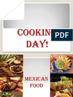 parents cooking - making quesadillas
