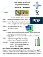 CSCC BottleDrive Oct26 Posters