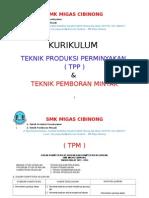 Kurikulum Pemboran Dan Produksi Migas