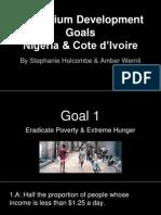 millennium development goals in nigeria