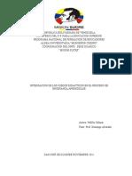 Integracion De Los Juegos Didacticos En El Proceso De Enseñanza Aprendizaje.doc